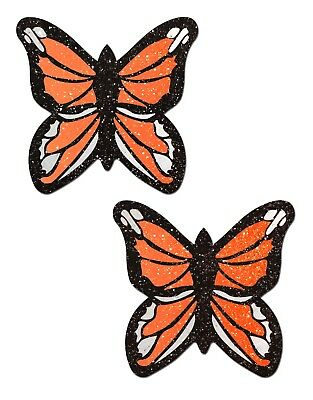 PASTEASE brand Pasties Classic Monarch Butterfly Nipple Pasties Buy 2 Get 1 Free