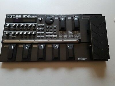 BOSS GT-8 Guitar Effects Processor with Road Case
