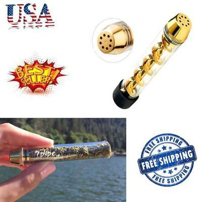 Tank 510 Tobacco Pipe Smoking Cigarette Cigar Glass Pipes Holder NEW US STOCK