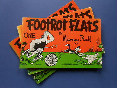 ## FOOTROT FLATS ONE by MURRAY BALL - VINTAGE AUSTRALIAN COMIC