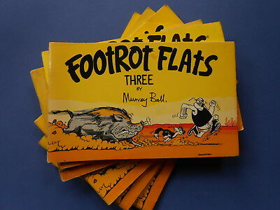 ## FOOTROT FLATS THREE by MURRAY BALL - VINTAGE AUSTRALIAN COMIC