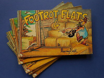 ## FOOTROT FLATS FOUR / 4 by MURRAY BALL - VINTAGE AUSTRALIAN COMIC