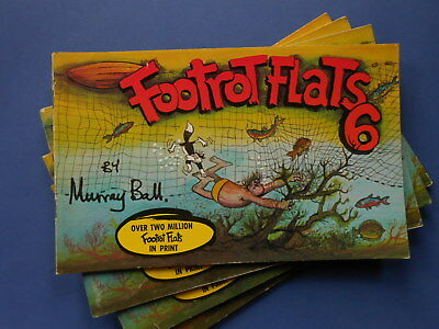 ## FOOTROT FLATS SIX / 6 by MURRAY BALL - VINTAGE AUSTRALIAN COMIC
