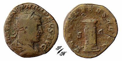 (#69) RARE SESTERTIUS - PHILIPPE I t'arab - R/ the century of the millenary