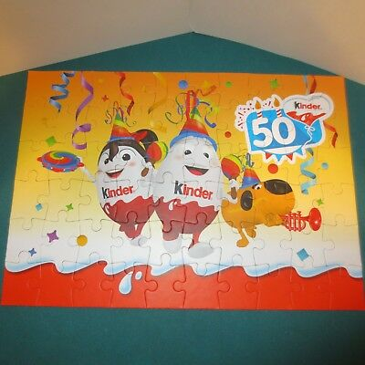 50 years Jahre Kinder - Sehr große Werbepuzzle, Promo Puzzle Kinderino Party