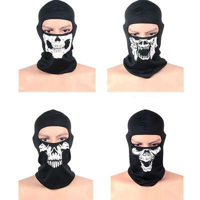 NEW Skull Facial Mask For Motorcycle Ski Snowboard Bike Motocross Sport Pop