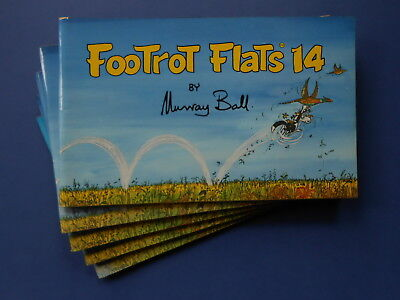 FOOTROT FLATS FOURTEEN / 14 by MURRAY BALL - VINTAGE AUSTRALIAN COMIC *LIKE NEW