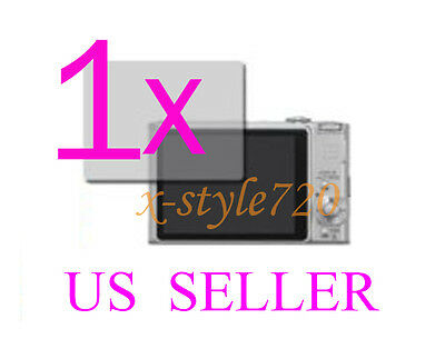 1x Clear LCD Screen Protector Guard Cover Film For Sony CyberShot DSC-HX9V