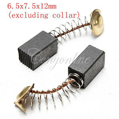 2Pcs Electric Replacement Power Tool Motor Carbon Brushes Tool - Various Sizes