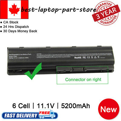 Long Life Notebook Laptop Battery for HP MU06 MU09 593554-001 593553-001 FAST SH
