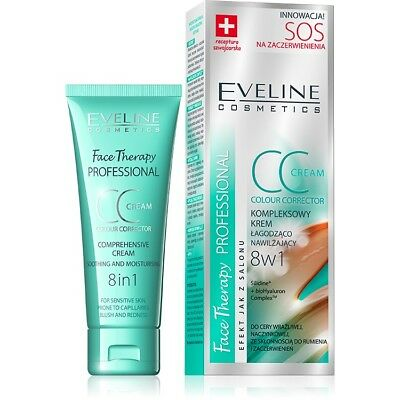 Eveline Face Therapy 8in1 Comprehensive CC Cream Soothing And Moisturising 30ml.