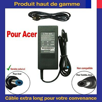 Chargeur d'Alimentation 90W Pour Acer ADP-90SB BB. ADP-90CD DB ADP-90MD H