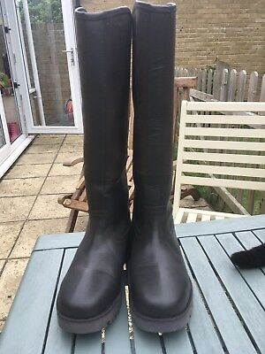 Kinpurnie leather boots size 5/38