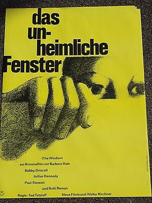 "Das unheimliche Fenster (""The Window"") - Hans Hillmann - Filmplakat 1949"