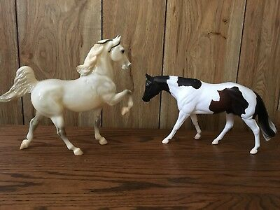 2 Traditional Size Breyer Horses