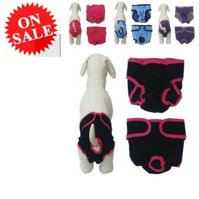 High Quality Pants Comfort Pads Shorts Diaper Washable Diaper For Pet Female Dog