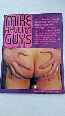 vintage gay mens  interest magazine MIKE ARLEN'S GUYS.volume 4.