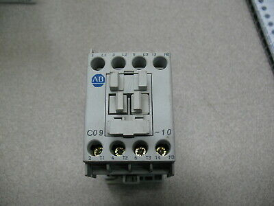 Allen Bradley 100-C09* Contactor With 220/230 Volt Coil (Chipped)