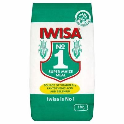 Iwisa Super Maize Meal 1kg (Pack of 6)