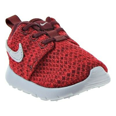 1bfb9fbbb2d75 New NIKE Kids Roshe One Shoe Size 9C Dark Team Red  Wolf Grey 749430 607