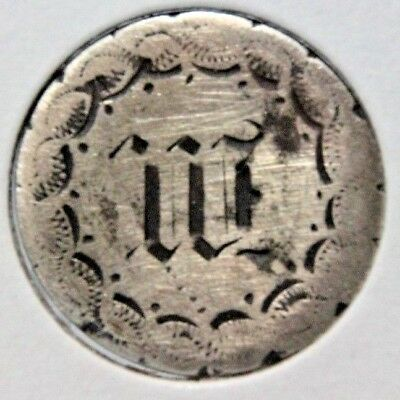 1880 Liberty Seated Dime - LOVE TOKEN - W - Lot # LT 515
