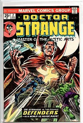 2 Comic Lot Marvel Dr Doctor Strange 2 3 1974 Dormammu