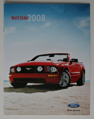 FORD MUSTANG 2008 dealer brochure - French - Canada - ST1002000318