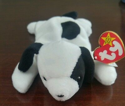 Ty Beanie Baby Babies Retired SPOT with production errors.
