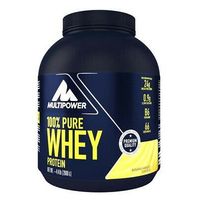 (19,72EUR/kg) Multipower - 100% Whey Protein 2000g Dose