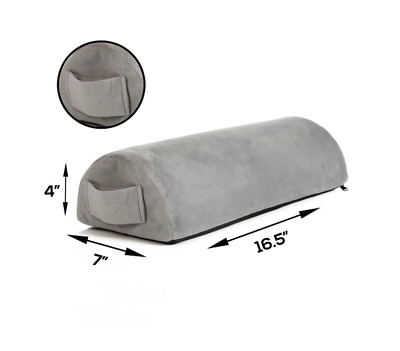 Foot Rest Under Desk Office Portable Comfort Memory Foam Pillow Pain Relief Back