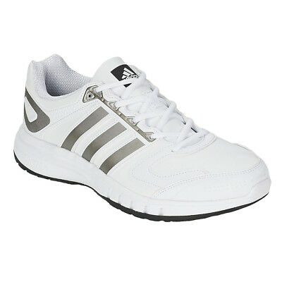 Mens Adidas Performance Leather Trail Trainers Running Shoes Support Sneakers...