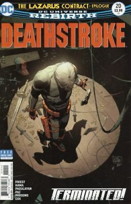 Deathstroke #20 (NM)`17 Priest/ Hama/ Pagulayan  (Cover A)