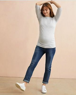 Over the bump straight maternity jeans by Blooming Marvellous (ME-958)