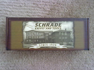 SCHRADE Messer blau (Knives and Tools Collectable)