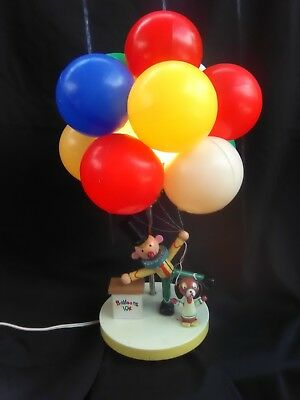 Vintage Dolly Toy Company Clown Selling Balloons Shade Lamp Nightlight circus