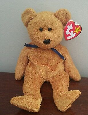 Ty Beanie Baby Babies Retired FUZZ with production errors