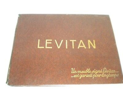Vintage catalogue Art Deco Furniture Levitan 1936 French