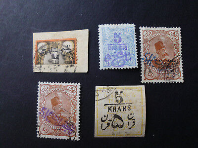 Persia/Persien/Perse/Middle East, 1884 -1902 LOT Used +1x Mint All 100% Original