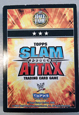 Lot 42 cartes Catch / TOPPS SLAM ATTAX trading card game W