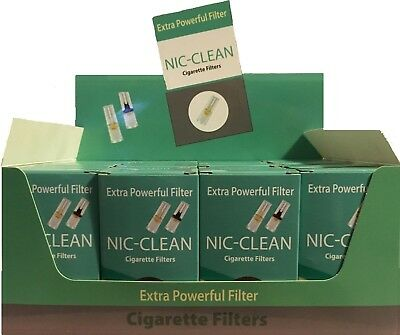 NICCLEAN Cigarette Filter Tips 24 Packs (720 filters) Free  Efficient Filters