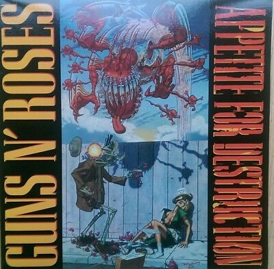 Guns N Roses appetite for destruction Vinyl LP. Brand New. Never Played.