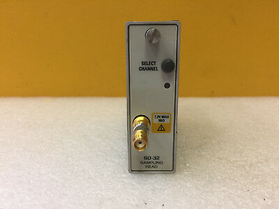 Tektronix SD-32 50 GHz Bandwidth, Sampling Head. For 11801x CSA803x. Tested!