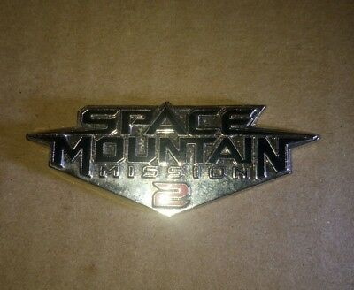 pin's disney space mountain mission 2.numéroté 263/1200