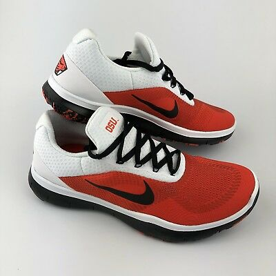 cheap for discount 4bc93 cdfef NIKE FREE TRAINER V7 WEEK ZERO Sz 8 Oregon State Beavers AA0881-801 Mens  Shoes
