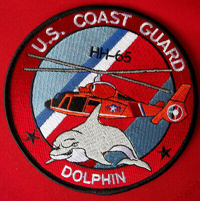 United States Coast Guard, Dolphin HH-65 patch 5 inches diameter