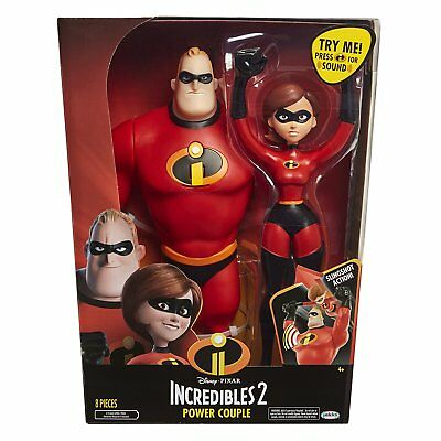 Incredibles 2 74878 Power Couple Figure, 12-Inch