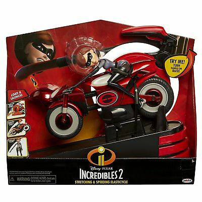 Incredibles 2 76605 Mrs Incredible and Elasticycle Toy