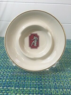 Stefanino's Of Beverly Hills Restaurant Ceramic Ashtray By Shenango China RARE