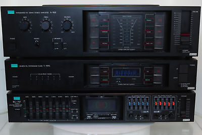 Sansui A-909 Integrated Amplifier / T-909L Tuner / RG-707 Equalizer