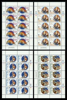 2004, Belize, 1285-88 KB, **